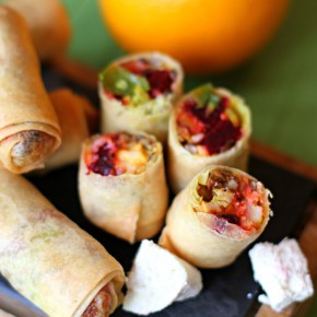 Christmas Spring Rolls